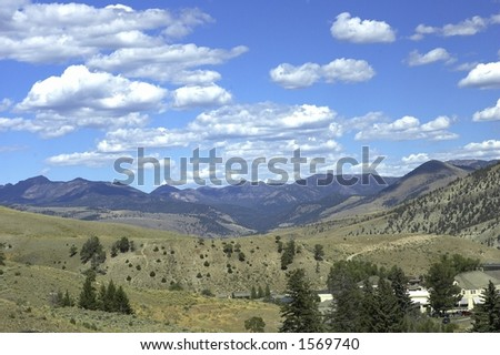 Green Valley - stock photo