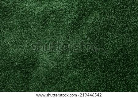 green velvet texture - stock photo