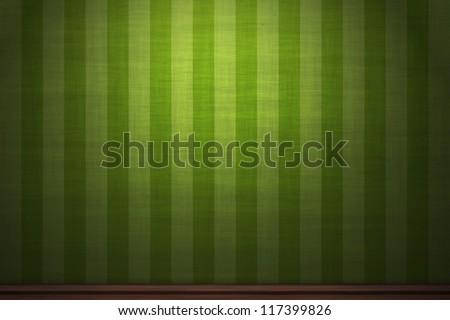 Green vintage wallpaper background - stock photo