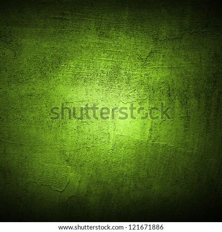 green wall background - stock photo