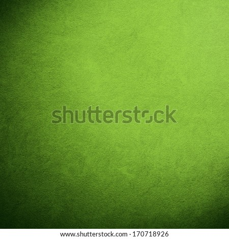 green wall texture for background. - stock photo