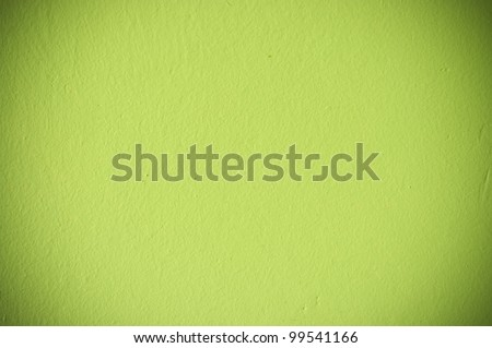 Green wall texture for background usage - stock photo