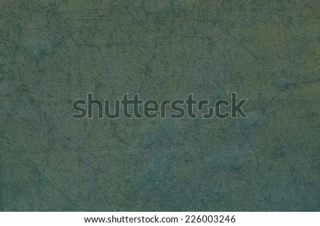 green wet creased paper background texture - stock photo