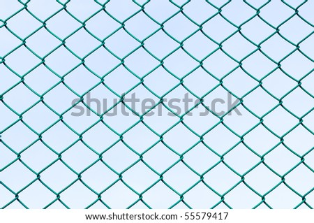 Green wire mesh - stock photo