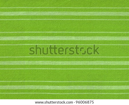 Green with white lines fabric background