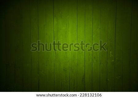 green wood backdrop - stock photo