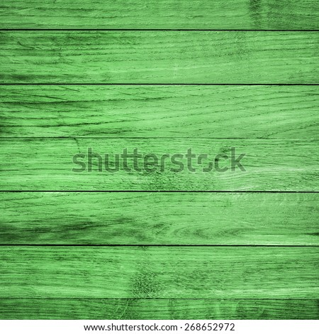 Green Wood Texture or Background/ Green Wood - stock photo