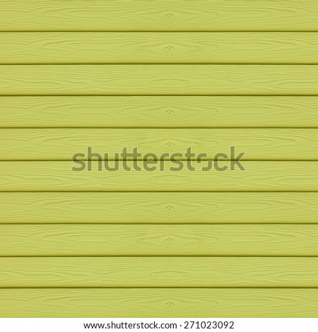 Green wood wall texture background - stock photo