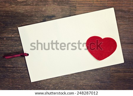 greeting card - stock photo