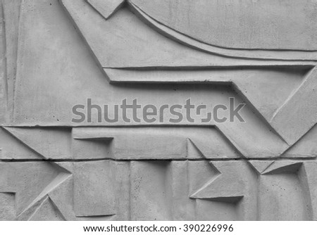 Grey abstract image. Grunge background - stock photo