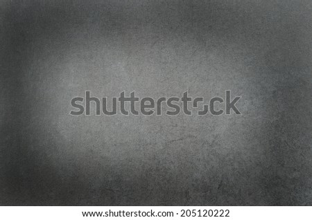 Grey / Black chalkboard for background  - stock photo