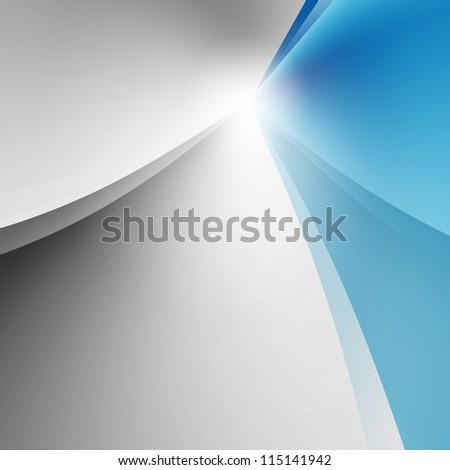 grey blue background - stock photo