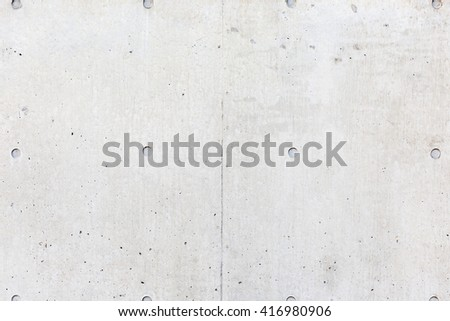 grey cement wall - stock photo