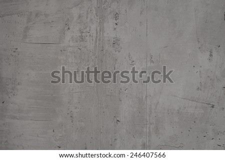 Grey cement wall texture - stock photo