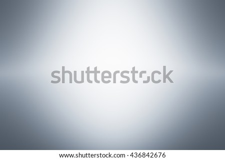Grey gradient abstract background / gray room studio background / dark tone / for used background or wallpaper - stock photo