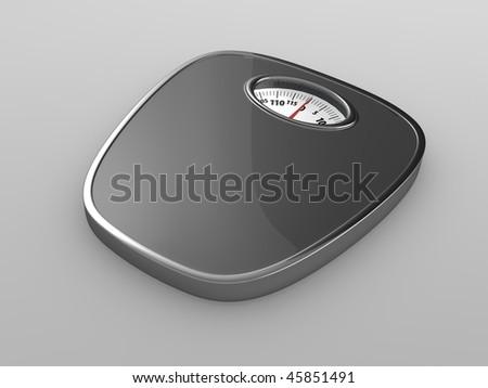 grey scales - stock photo