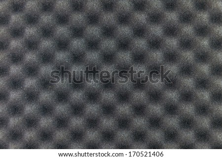 grey sponge texture - stock photo