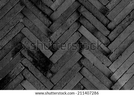 grey stone tile texture floor surface - stock photo