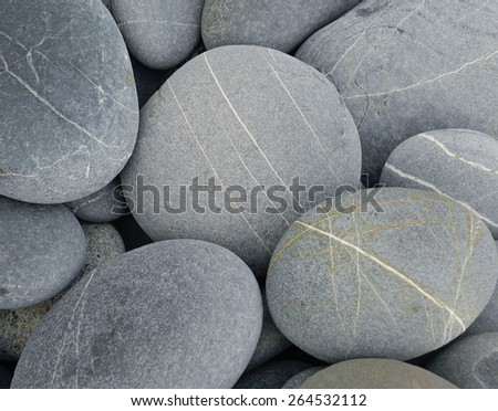 Grey stones  - stock photo