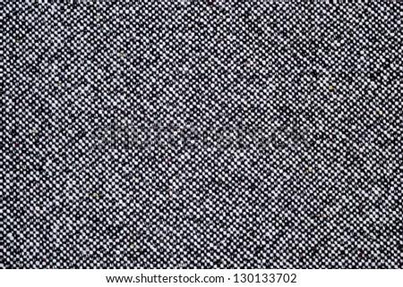 Grey tweed texture, gray wool pattern - stock photo