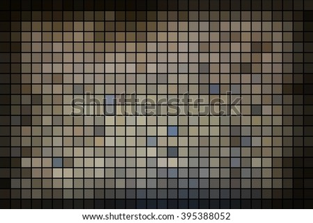 Grey white black mosaic background
