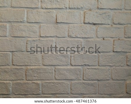 Grey white brick wall texture background