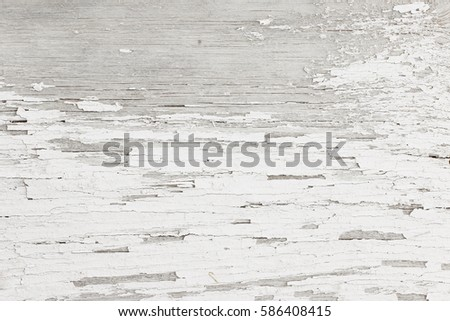 Grey White Wooden Background Of Weathered Distressed Rustic Wood With Faded Paint
