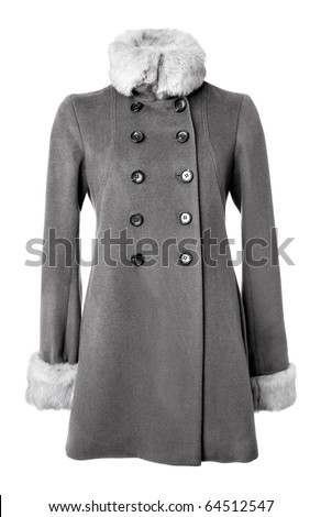 Grey Women Overcoat