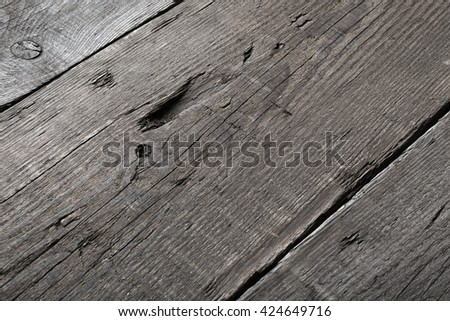 Grey wood texture and background. Grey blue wood texture background. Rustic, old wooden background. Aged wood planks texture pattern. Wooden surface.  - stock photo