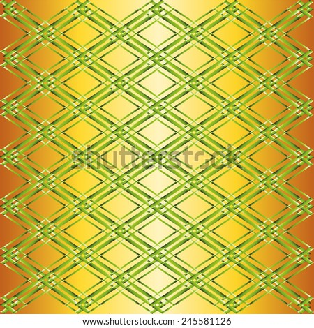 Grid green yellow background  - stock photo