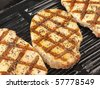 grilled porkchop - stock photo