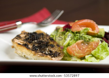 Grilled Red Snapper - stock photo