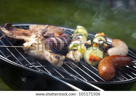 Grilling time, Grill
