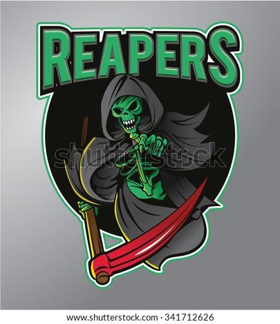 Grim Reaper - stock photo