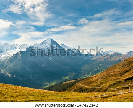 Grindelwald mountain view