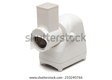 grinder on the white background - stock photo