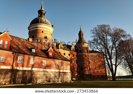 Gripsholm castle - stock photo