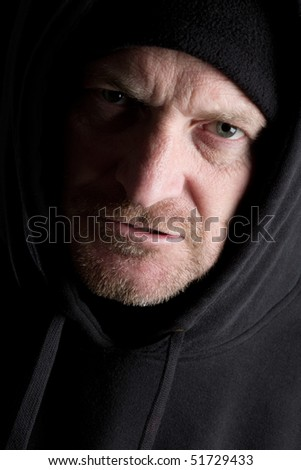 Grizzly Old Man - stock photo