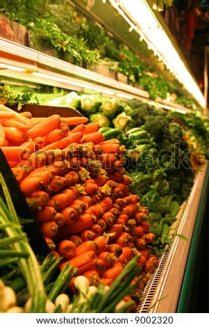 Grocery Store Produce - stock photo