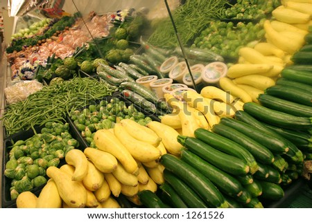 Grocery Vegetables