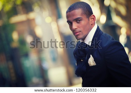 groom - stock photo