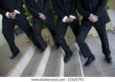 Groomsmen - stock photo