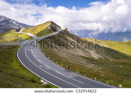 Gross?glockner high road in Austria