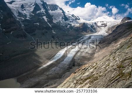 Grossglockner Glacier in Austria - stock photo