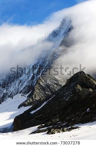 Grossglockner Peak (3797m), Austria - stock photo