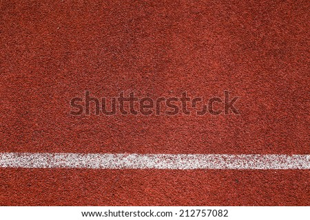 Ground track - stock photo