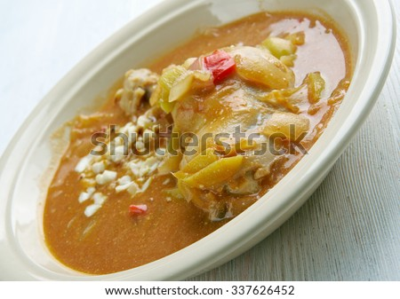 Spicy Chicken Peanut Soup (Groundnut Soup) Recipe — Dishmaps