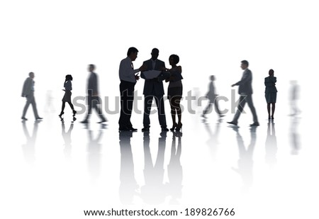 Group of Business Meeting - stock photo