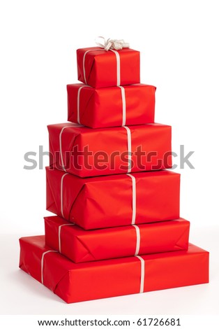 Group of giftboxes