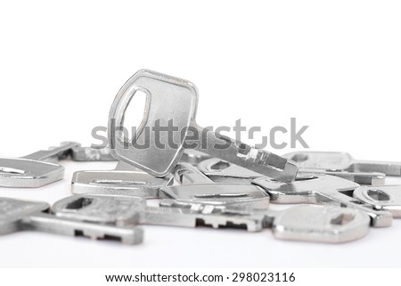 Group of keys - stock photo